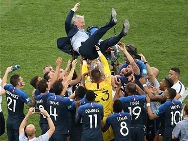 足球——法国队与大力神杯再续前缘
