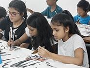 斯里兰卡儿童体验中国文化