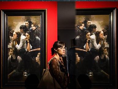 中国油画艺术国际巡展在罗马举行