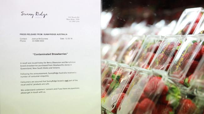 澳大利亚草莓藏针事件发酵