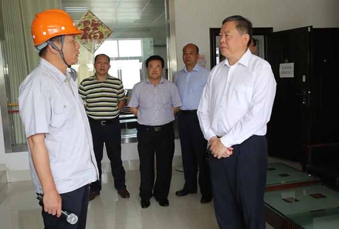 张秀隆率调研组赴来宾、柳州调研优化营商环境情况