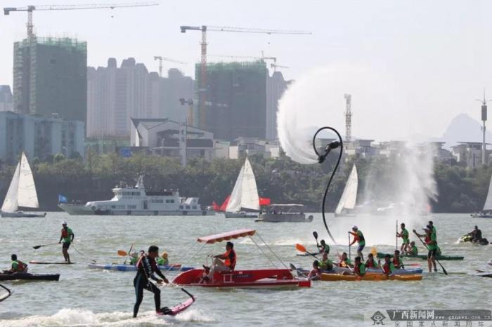 国庆长假期间广西水上交通安全形势持续稳定