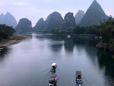 天空之眼瞰桂林
