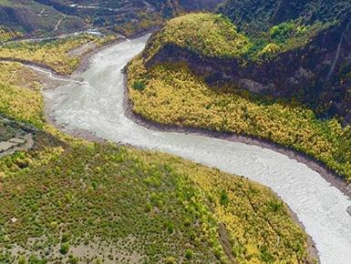 雅鲁藏布江堰塞湖河段恢复