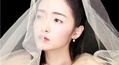 孙嘉琪最新写真发布 穿蓬纱裙甜美可爱