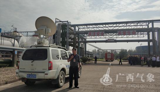 防城港:参与中油能源灭火救援实战演练
