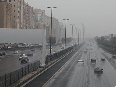 雨袭科威特