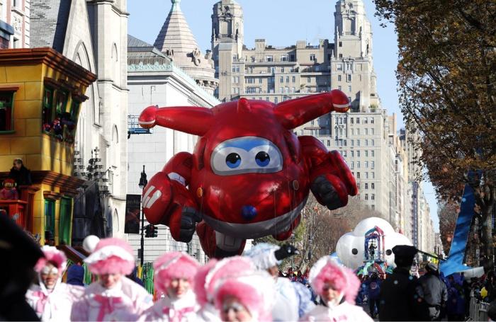 纽约举行2018感恩节大游行