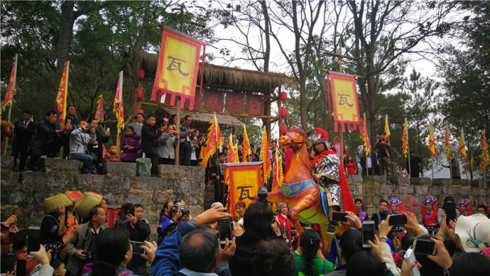 高清:靖西旧州举办瓦氏夫人点将出兵500周年纪念庆典