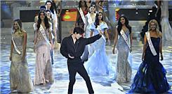 迪玛希助阵世界小姐决赛 唱功惊艳