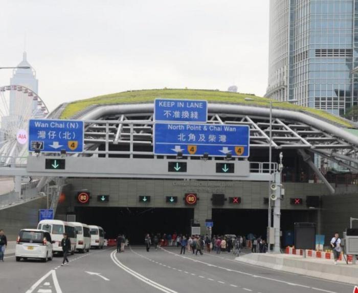 香港中环及湾仔绕道20日通车