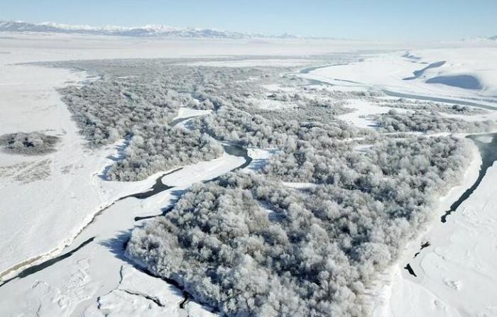 新疆昭苏:冰雪胜境