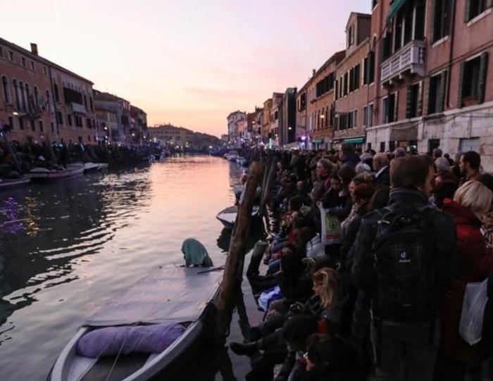 意大利威尼斯狂欢节开幕