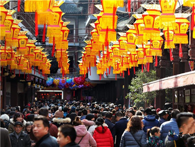 上海:逛豫园 迎元宵