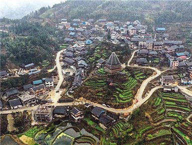 苗山侗寨打造美丽乡村