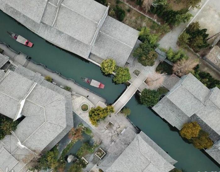 台儿庄:古城水乡显春意