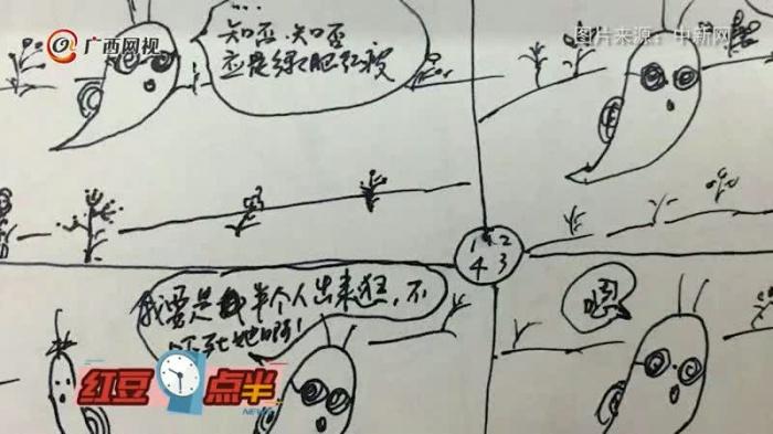 为了让孩子乖乖看病 50岁儿科医生画漫画哄娃