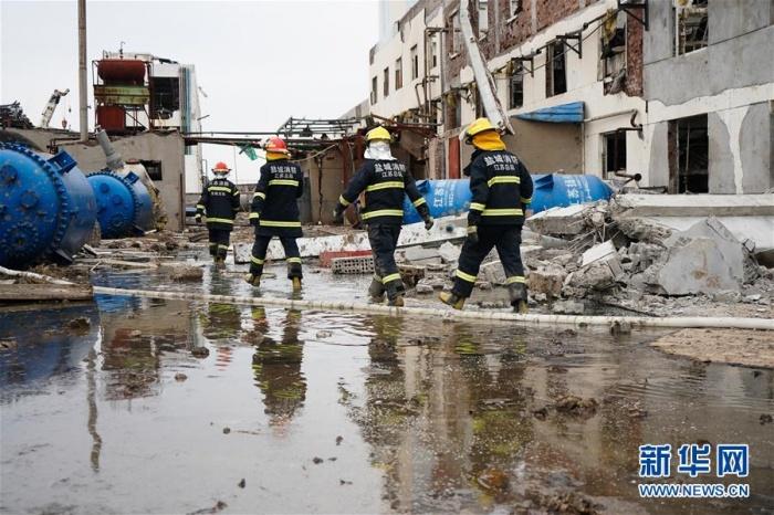 """""""3·21""""响水天嘉宜公司爆炸事故死亡人数升至64人"""