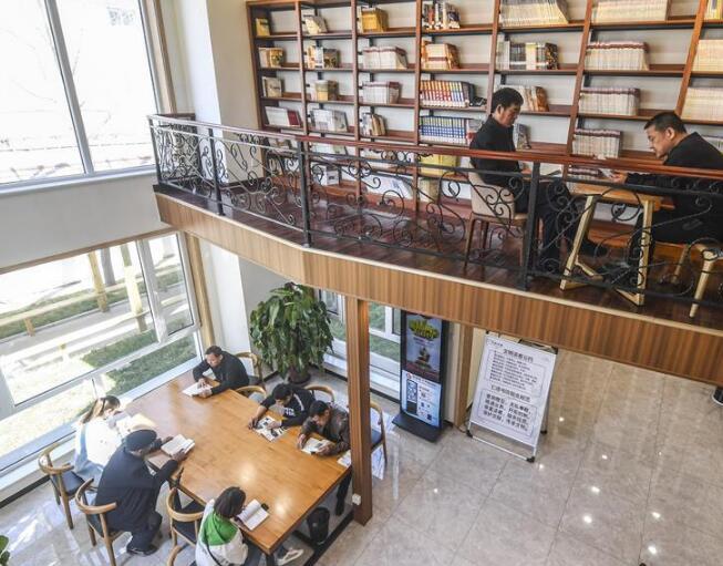 河北永清:村民自建農家書屋