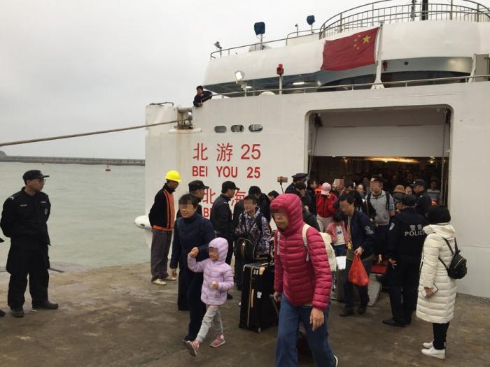 """770名游客在海上滯留 救援""""北游25""""的17小時"""