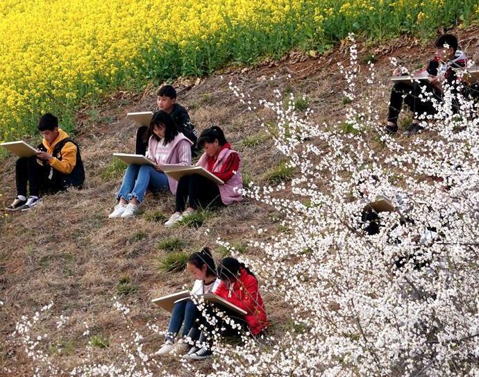 春日尋芳 多彩山鄉