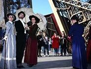 巴黎埃菲尔铁塔迎130岁生日