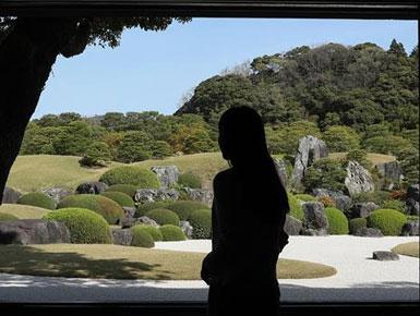 日本岛根足立美术馆