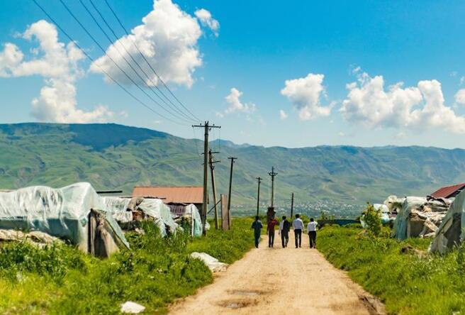 探访中塔农业大棚合作项目