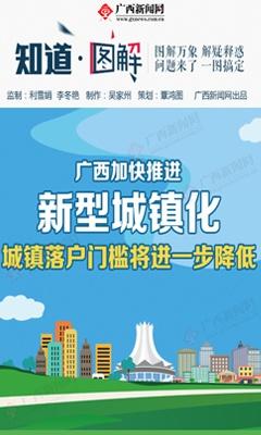 【桂刊】广西加快推进新型城镇化 城镇落户门槛将进一步降低