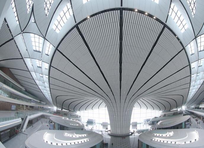 北京大興國際機場航站樓工程進入竣工倒計時