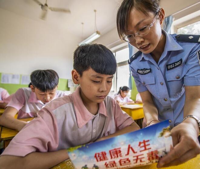河北武邑:禁毒宣传进校园
