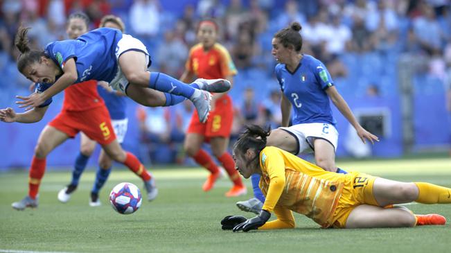 【女足世界杯】致敬中国队