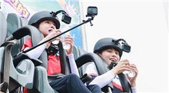 《青春环游记》王凯吴谨言玩转游乐园