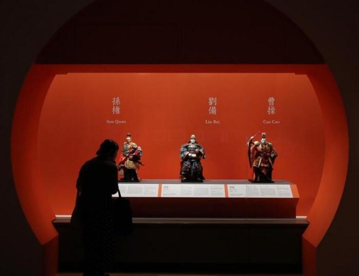 《三國志》展在日本東京舉行開展儀式