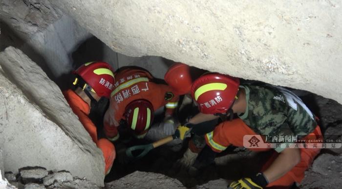 岑溪矿山塌方事故已救出4名被困人员 其中3人死亡