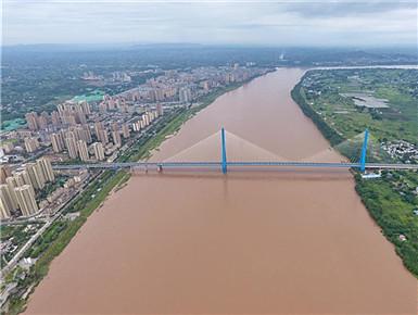 飞阅南溪仙源长江大桥