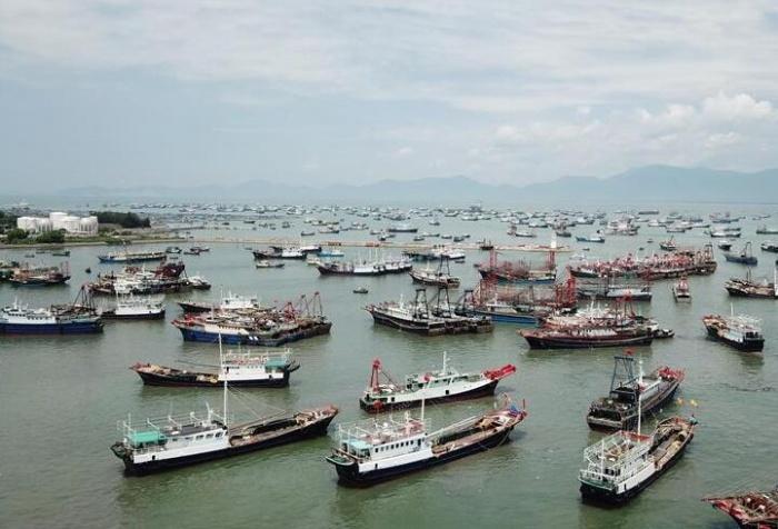 南海开渔 千帆进发
