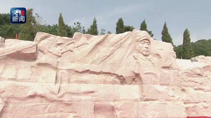 红军长征湘江战役纪念园今天举行湘江战役红军烈士遗骸安放仪式