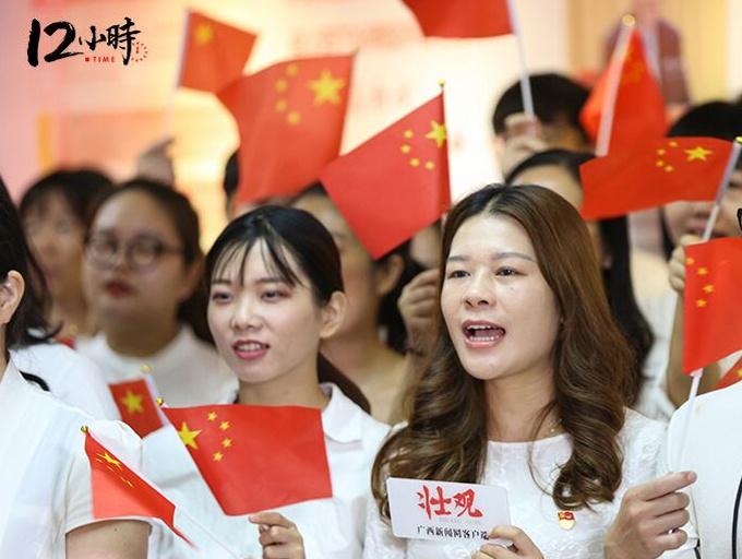 """向祖国献礼,广西日报社这些工作人员够""""硬核!"""""""