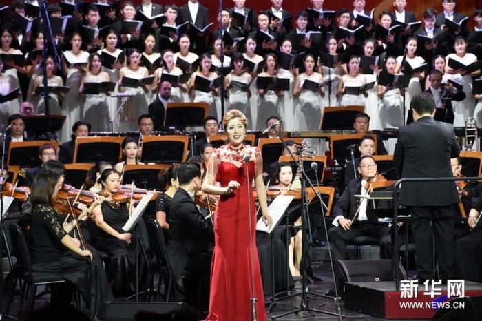 """天津举行""""祖国颂""""交响音乐会"""