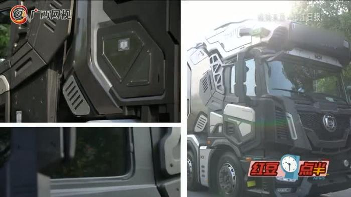 《流浪地球》工程车送大型外卖