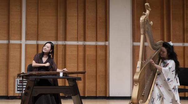 中国经典古琴歌倾倒纽约观众