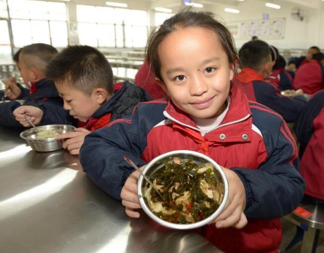 """贵州绥阳:农村义务教育学生""""营养餐""""全覆盖"""