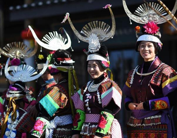 """贵州丹寨:苗族群众欢度""""祭尤节"""""""