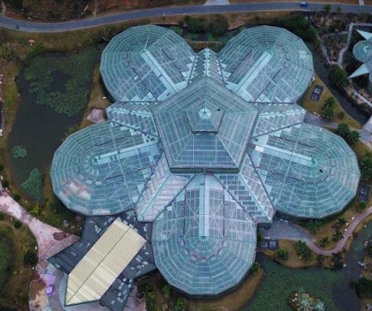 航拍中科院华南植物园