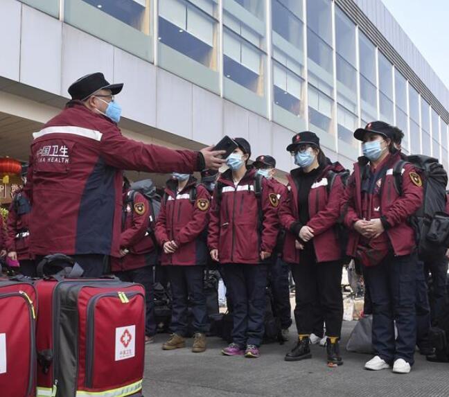 四川138名医疗队员奔赴武汉