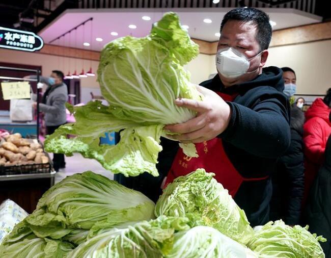 西安设立58个蔬菜投放点保障市场供应