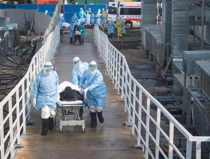 武汉火神山医院开始收治患者