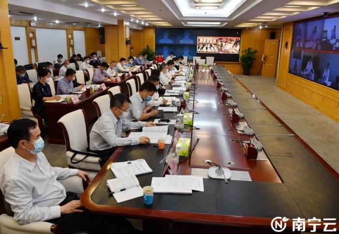 周红波主持召开中国(广西)自由贸易试验区南宁片区建设工作领导小组全体会议
