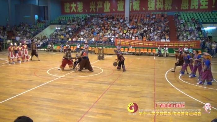 广西第十三届少数民族传统体育运动会资料片各项目比赛集锦(下)2